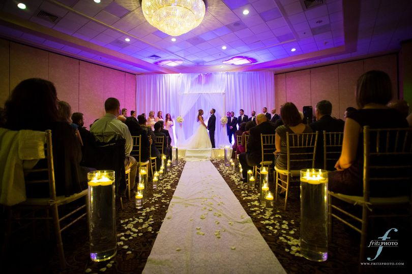 Our wedding planners will help you set the tone for a beautiful, gorgeous wedding ceremony. Photo...