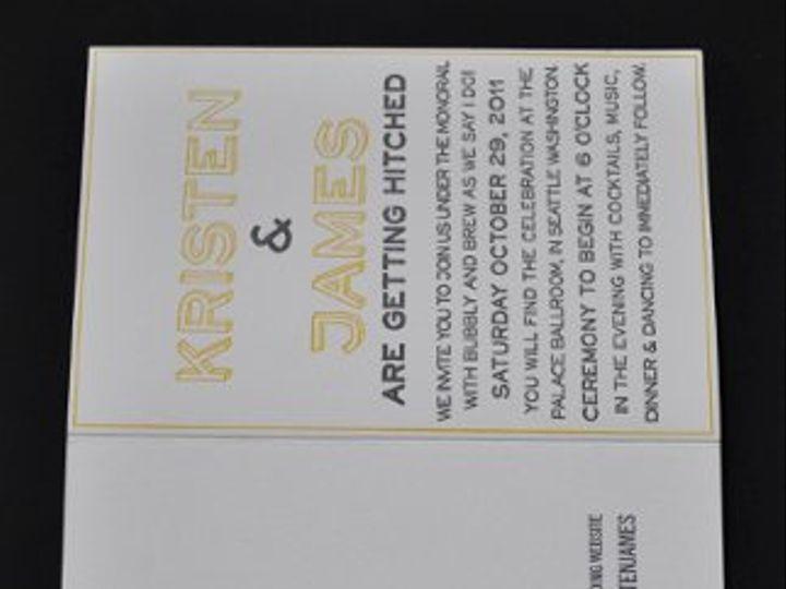 Tmx 1331416781006 DSC1581 Seattle wedding invitation