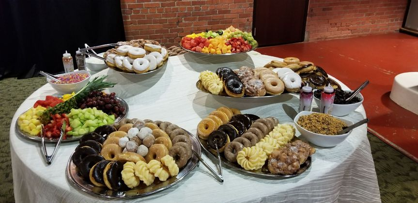 Donuts for Cocktail Hour