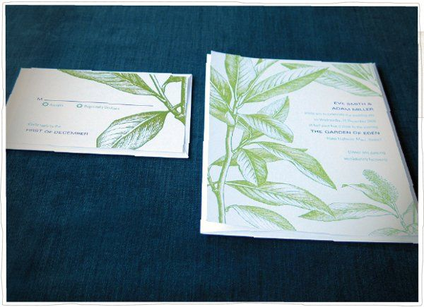 Tmx 1275333786120 Adameve2 Somerville wedding invitation