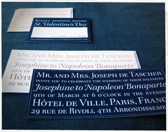 Tmx 1275334091342 Napoleonjosephine Somerville wedding invitation