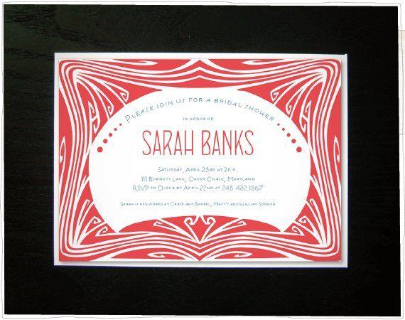 Tmx 1304535885873 Vintageshower Somerville wedding invitation