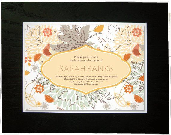 Tmx 1304535912592 Floralshower Somerville wedding invitation