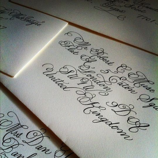 Calligraphy by Jennifer Taylor