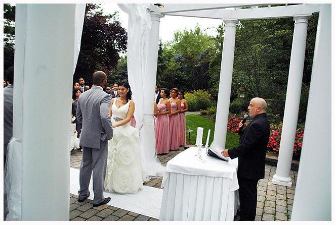 moe and monicas wedding