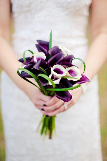 Little violet bouquet