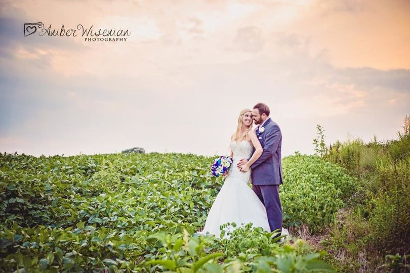 Dress and Tux by Best Bride Prom & Tux. Photo by Amber Wiseman Photography.