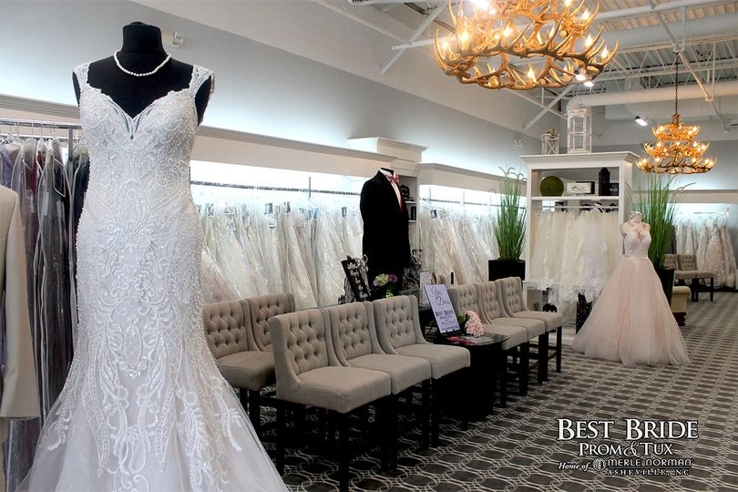 Best Bride Prom & Tux Home Merle Norman of Asheville is a full service bridal boutique carrying the...