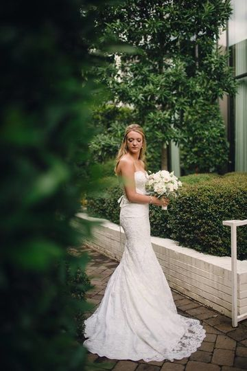 Wedding dress from Best Bride Prom & Tux. Photography by Red Boat Photography. Venue Proximity Hotel...