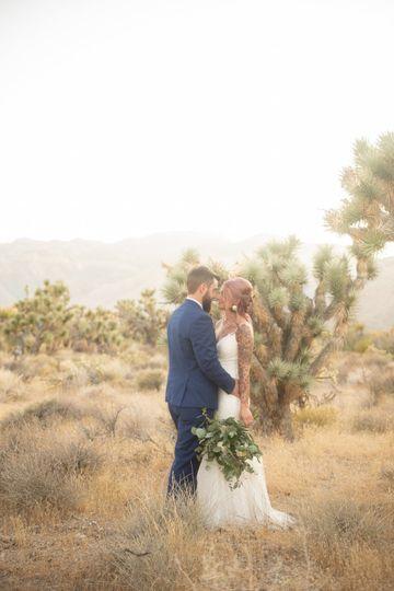 Desert Wedding Photos