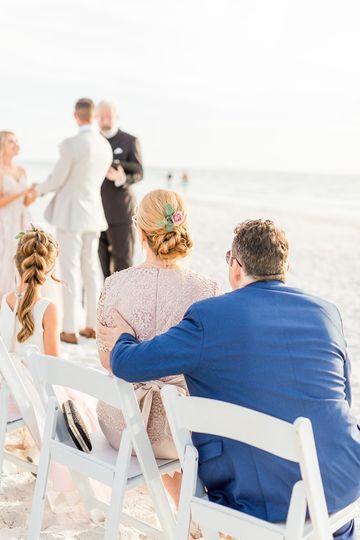 Florida Gulf wedding