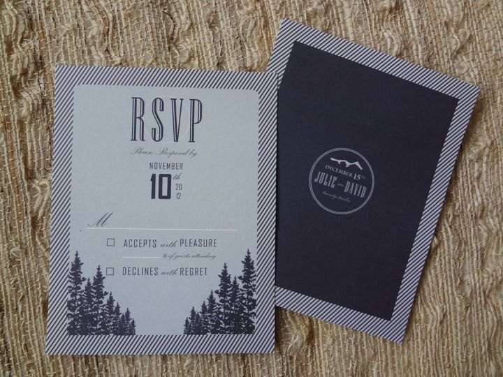 Tmx 1352393242659 DSC01345 Castle Rock wedding invitation