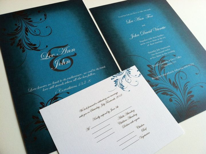 Tmx 1352393387472 Photo3 Castle Rock wedding invitation