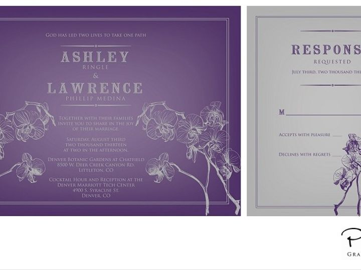Tmx 1382132417819 2013 04 15002 Castle Rock wedding invitation