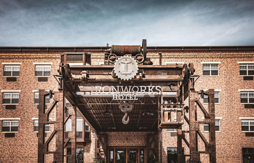 Ironworks Hotel Beloit Front