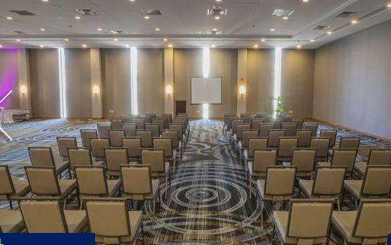 Wedding ceremony space