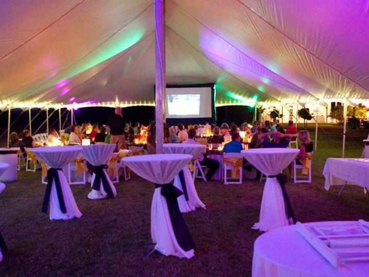 Tmx 1415751972430 40x100 Epic Interior At Night Salem, VA wedding rental