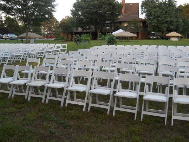 Tmx 1415752062024 White Padded Chairs Salem, VA wedding rental