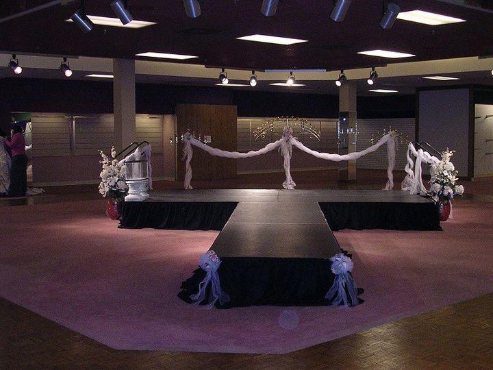 Tmx 1415752162065 Adjustable Staging With Skirting Salem, VA wedding rental