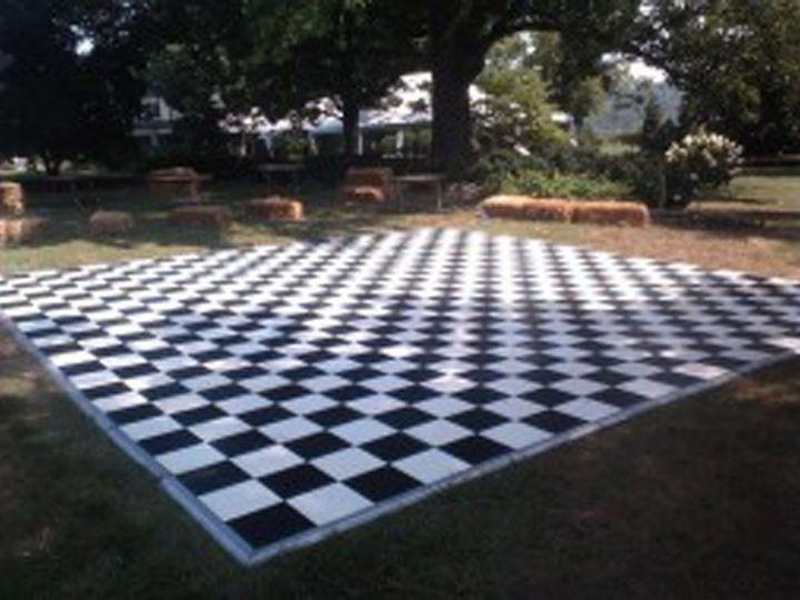 Tmx 1415752193427 Black And White Dance Floor Salem, VA wedding rental