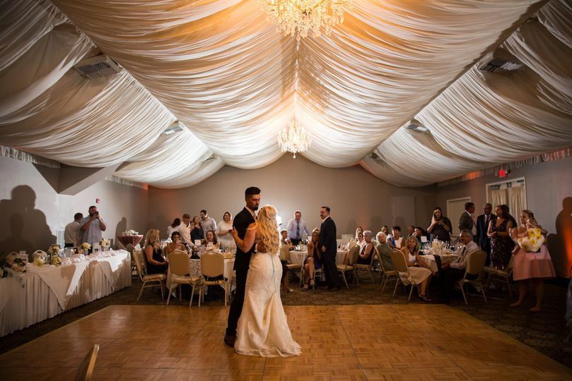First Dance Under the chandeliers