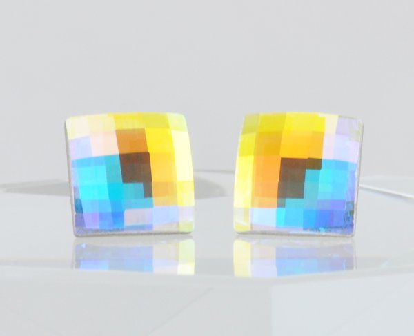 Tmx 1292812113698 Colorful10mmSquareChessboardEarrings4 Whitinsville wedding jewelry