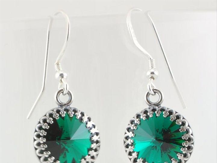 Tmx 1292812135651 Emerald12mmrivoliearrings4 Whitinsville wedding jewelry