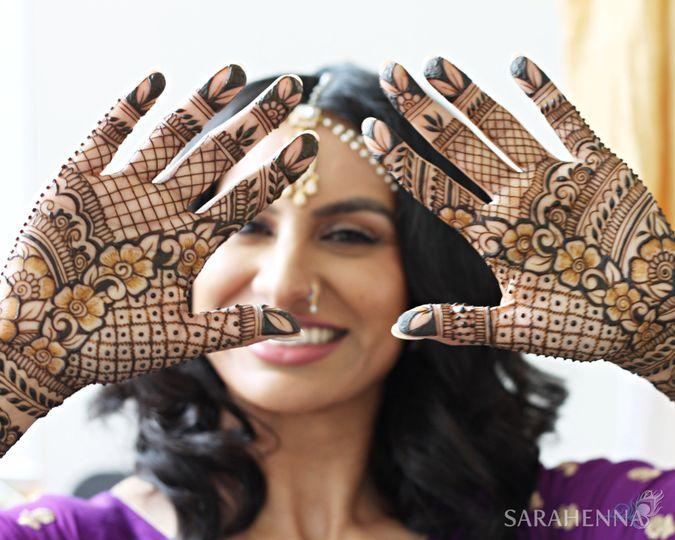 Beautiful bride Jasmeet S.