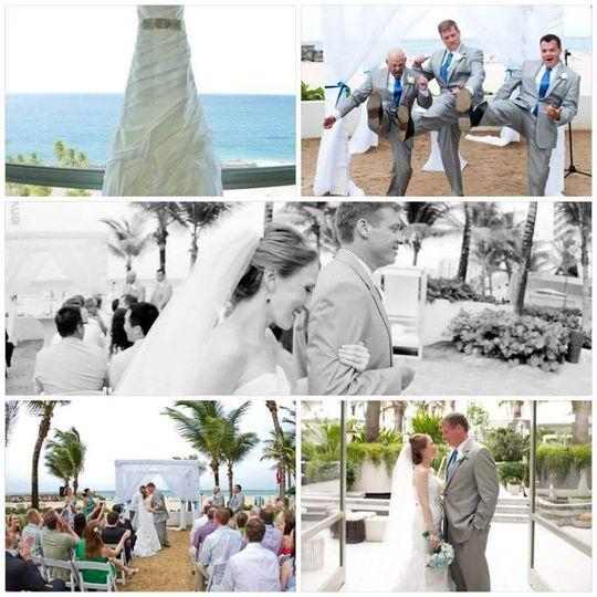 la concha wedding
