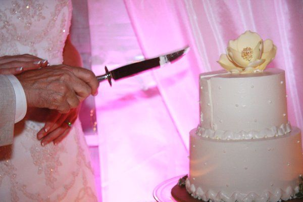 Bob Lacey, co-host of WLNK's Bob & Sheri show, and his bride Mary celebrated their wedding with a...