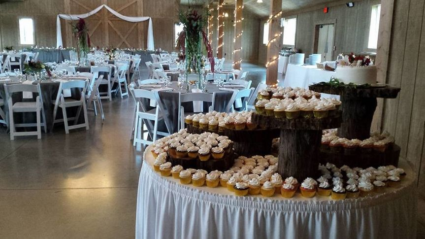 venue with cupcakes