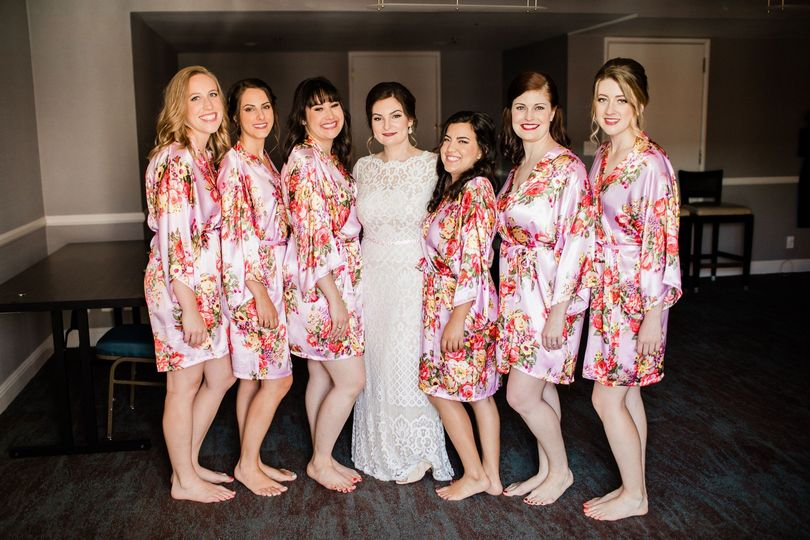 Michelle and Bridal party