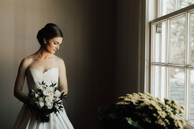 Bride Kathryn Portrait