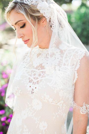 Style shoot bridal makeup