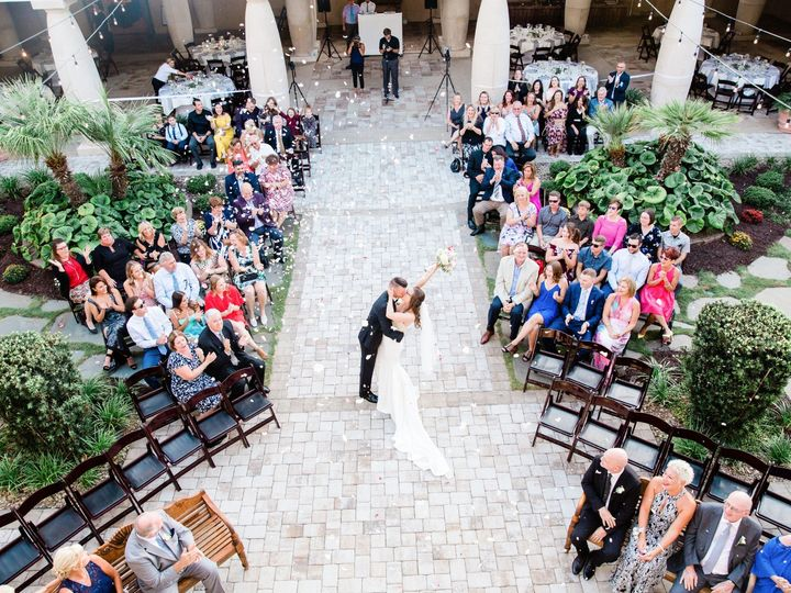 Tmx Courtyard Ceremony 4 51 566830 158317098435752 North Myrtle Beach, SC wedding venue