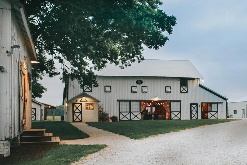 The Homestead 1835 barn