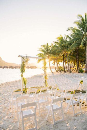 Wedding at the Four Seasons