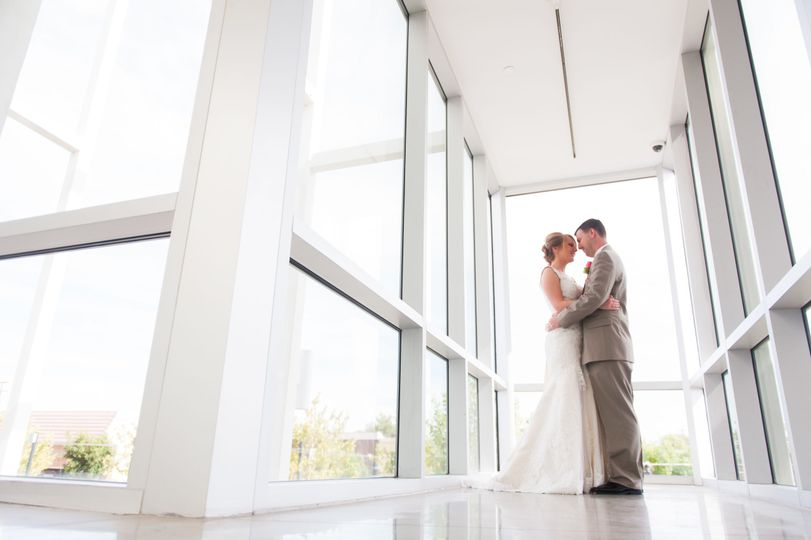 The Museum's modern architecture is the perfect setting for your wedding