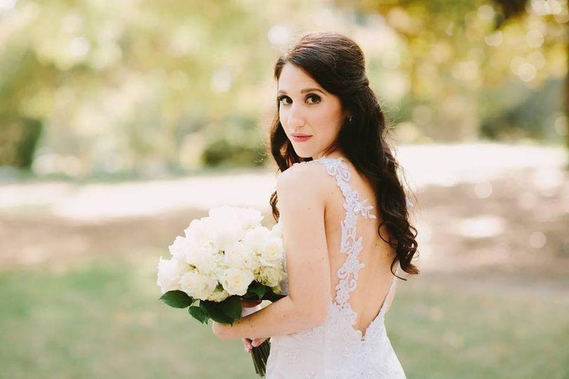 rachel wedding hair 2