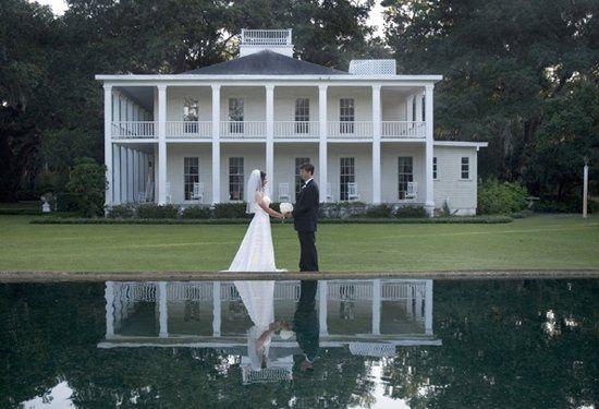 Wedding held at Eden Gardens State Park.
