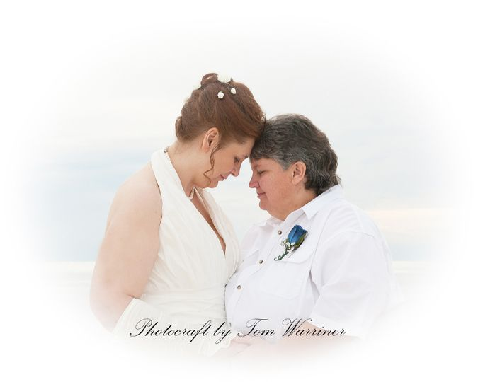 Two loving brides.