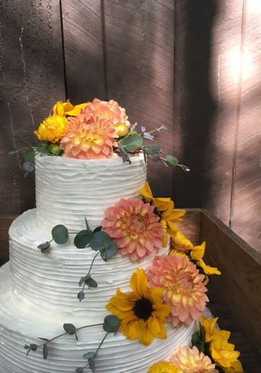 Wedding Cake at Treman Park