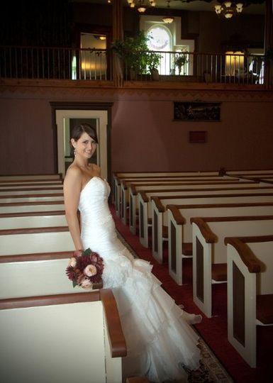 N side aisle of chapel