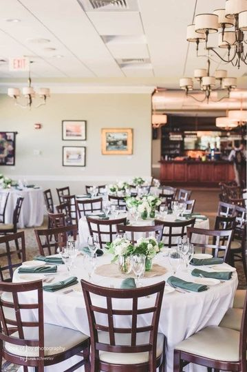 Dining hall | Credit Look of Joy Photography