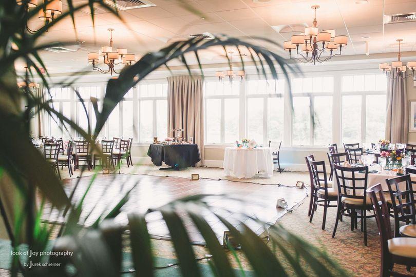 Reception hall | Credit Look of Joy Photography