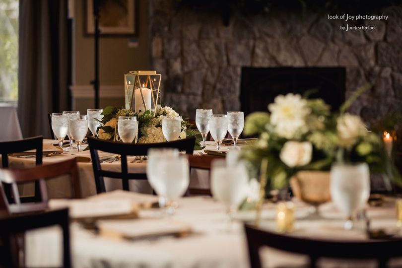 Reception tables | Look of Joy Photography