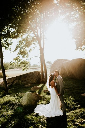 Forehead kiss | Credit Amy Spirito Photography