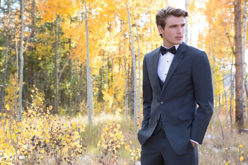 Suit and tuxedo options