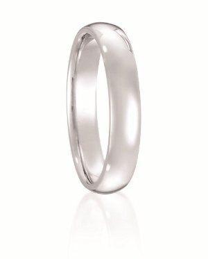 A eternal classic. This traditional comfort fit wedding band is available for men and women from 2...