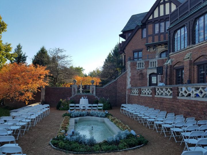 Ceremony at Rollins Mansion